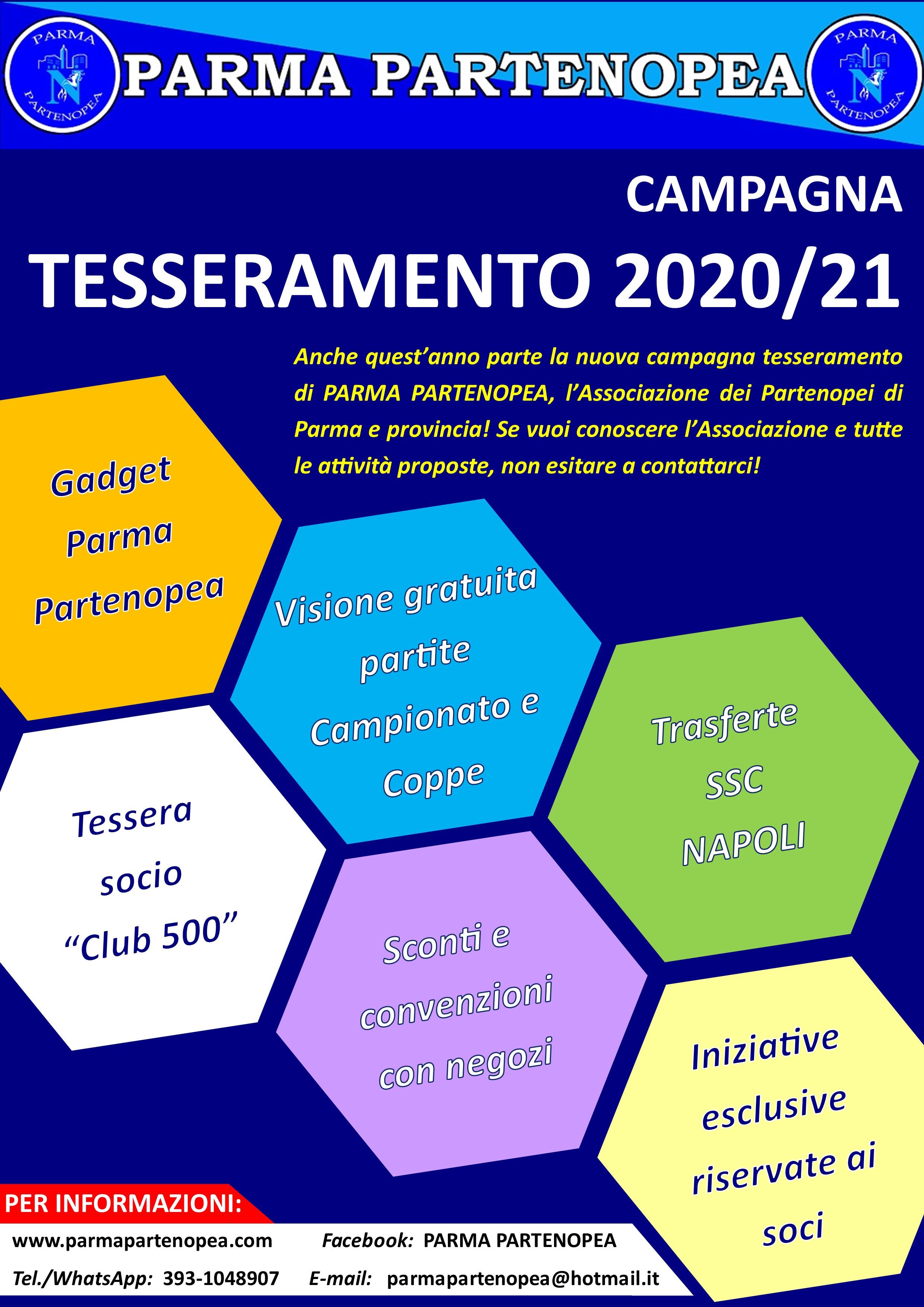 Promo tesseramento PP 2020-21
